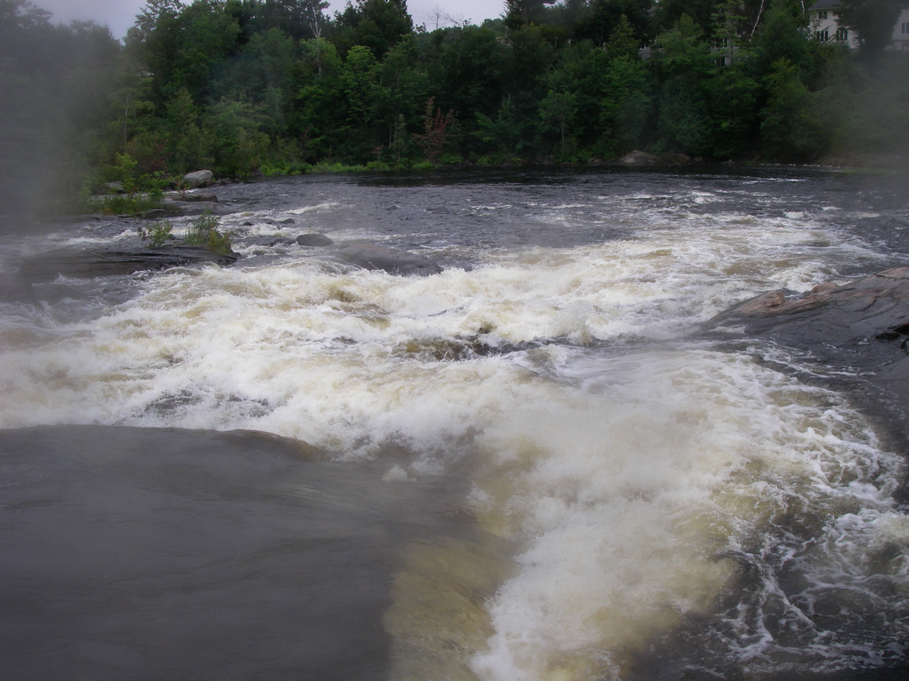 Suicide, the third and last major rapid on the Petawawa.  (Photo by Cahil Converse - 8/9/08)